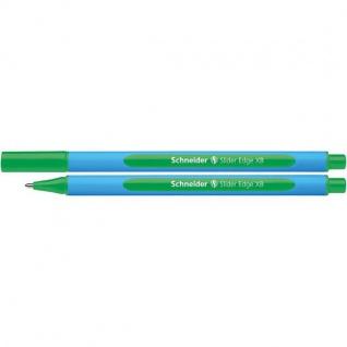 Schneider Kugelschreiber Slider EDGE Stärke XB in Farbe grün