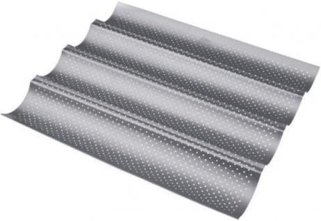 Patisse Cross Baguetteform 4 fach Silver Top beschichtet 38cm