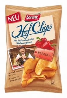 Lorenz Hof Chips Paprika Aus besten deutschen Anbauregionen 110g