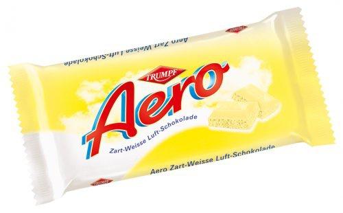 Trumpf Aero Zart Weisse Luft-Schokolade mit feiner Vanille Note 100g