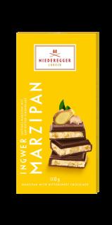 Niederegger Marzipan Tafel Ingwer Zartbitter Schokolade 110g