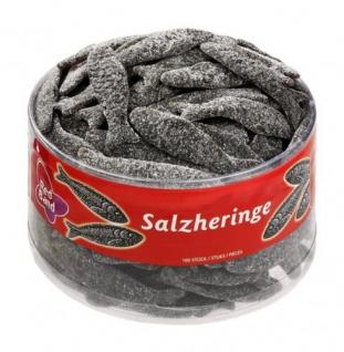 Red Band Salzheringe Lakritz salzig gezuckert Enthält Süßholz 1180g