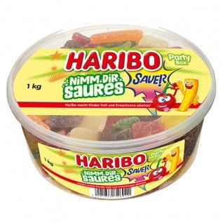 Haribo Nimm Dir Saures Fruchtgummi teilweise mit Cola Geschmack 1000g