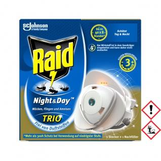 Raid Night Day Trio Insektenstecker 1 Stecker und Nachfüller