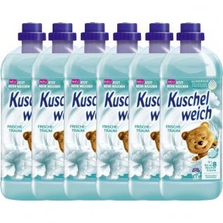 Kuschelweich Frischetraum Weichspüler für 33 Waschladungen 1L 6er Pack