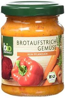 biozentrale Brotaufstrich Gemüse, 3er Pack