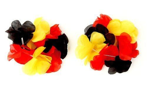 Cepewa Blüten Arm und Haarband Deutschland Farben deluxe 2er Set