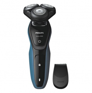 Philips elektrischer nass und trocken Rasierer S 5050 04 AquaTouch