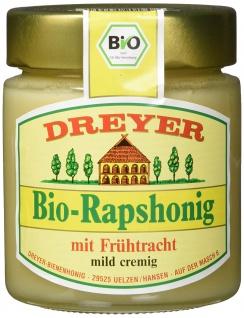 Dreyer Echter Deutscher Imkerhonig Bio Rapshonig mild cremig 500g