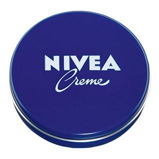 Nivea Creme Dose, Hautpflege für den ganzen Körper, 4er Pack (4 x 250 ml)