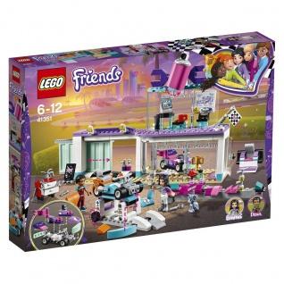Lego Friends 41351 Tuning Werkstatt Baue und gestalte coole Gokarts