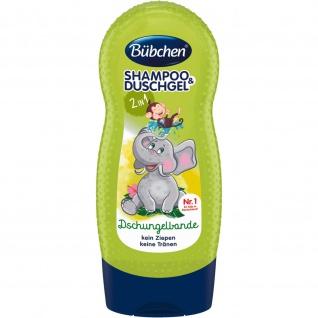 Bübchen Shampoo and Shower Dschungelbande 230ml in einem 8er Pack