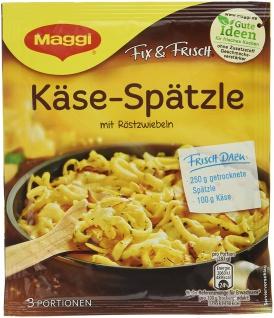 Maggi fix und frisch für Käse Spätzle Gewürzmischung 35g 18er Pack