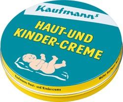 Kaufmanns Haut und Kindercreme ein kosmetisches Erzeugnis 75ml