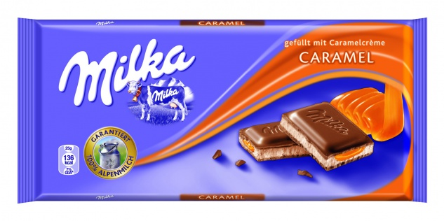Mondelez Milka Caramel 100g