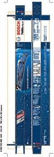 Bosch 3397001802 Wischblatt Satz Twin Spoiler 801S - Länge: 600/530