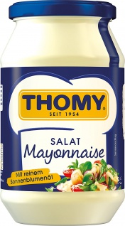 Thomy Salat-Mayonnaise, 500 ml Glas