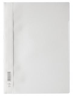 DURABLE Sichthefter mit transparentem Vorderdeckel weiß DIN A4 50 Stück