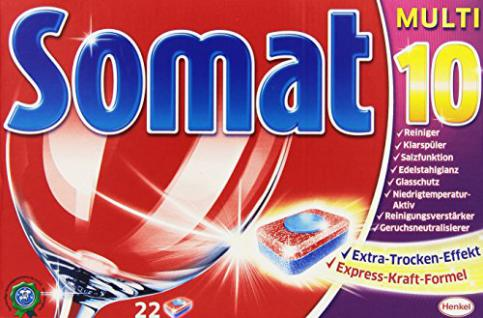 Somat 10 Tabs, Geschirrspültabs, M, 22 Tabs - Vorschau