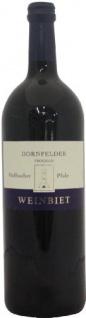 Weinbiet Mußbacher Dornfelder Rotwein trocken mit frischer Kräuternote 1000ml