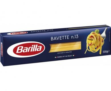 Barilla Bavette Nummer 13 Pasta aus Hartweizengriess 500g 11er Pack