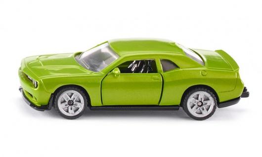 SIKU Dodge Challenger SRT Hellcat in einem giftgrünem Gewand