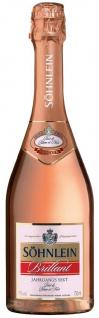 Söhnlein Brillant - Jahrgangs-Sekt Rosé de Blanc et Noir 11% - 750ml