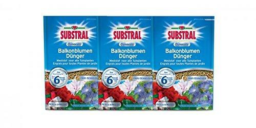 Substral Osmocote Balkonblumen-Dünger 3 x 1, 5kg - Vorschau