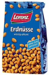 Lorenz Erdnüsse würzig pikant ohne Fett geröstet 150g 7er Pack