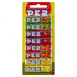 PEZ Bonbons Fruit Mix PEZ Spender Laktose und glutenfrei 68g 12er Pack