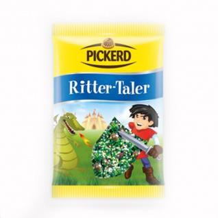 Pickerd Ritter Taler aus Vollmilchschokolade mit Zucker Perlchen 100g