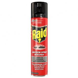 Raid Ameisen-Spray, 2er Pack (2 x 400 ml)