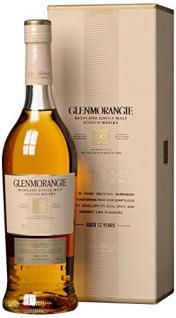 Glenmorangie 12 Jahre Nectar d'Or Highland Single Malt Whisky mit Geschenkverpackung (1 x 0.7 l)