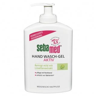 Sebamed Hand Wasch Gel Aktiv Spender mild mit Limettenextrakt 300ml