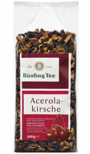 Bünting Tee Acerola Kirsche Früchte Kräuterteemischung 6er Pack