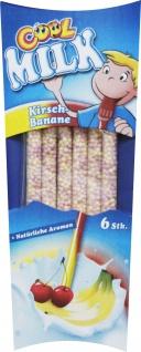 Cool Milk Milchtrinkhalme Kirsch Banane (6Stck.) 36g