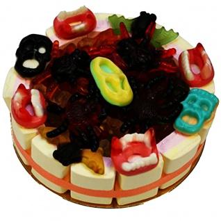 Happy Halloween Torte süße Fruchtgummi Torte zum Halloween 600g