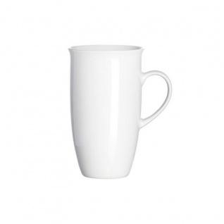 Ritzenhoff und Breker Kaffeebecher Bianco Porzellan weiß 473ml