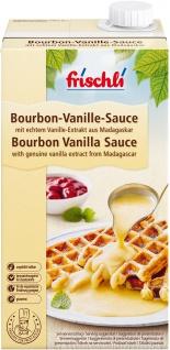 Frischli Bourbon-Vanille Sahnesauce feinstes Vanille-Aroma 1000ml