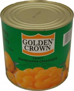 Golden Crown Fancy Mandarin Orangen Segmente in der Dose 1500g
