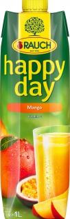 Rauch Happy Day Mangofruchtsaft aus Mangomark 1000ml 12er Pack