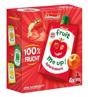 Odenwald - fruit me up Apfel-Erdbeere - 360g/4x90g