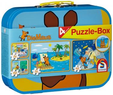 Puzzlebox Maus Metallkoffer