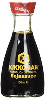 KIKKOMAN Soja-Sauce, 3er Pack (3 x 150 ml)