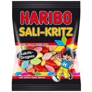 Haribo Sali Kritz Lakritz Dragees mit weichen Lakritzkern 200g