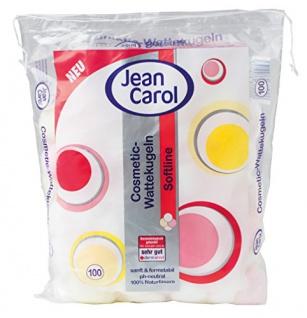 Jean Carol Wattekugeln, 6er Pack (6 x 100 Stück)