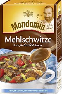 Mondamin Klassische Mehlschwitze dunkel, 4er-Pack (4 x 250 g)