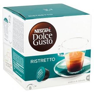 Nescafé Dolce Gusto Espresso Ristretto mit 16 Kapseln 104g, 3er Pack