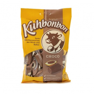 Kuhbonbon Choco extra softe Weichkaramellen Bonbons Glutenfrei 200g