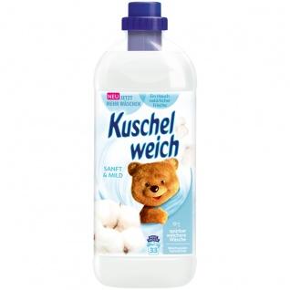 Kuschelweich Weichspüler Sanft und Mild für 33 Waschladungen 1L